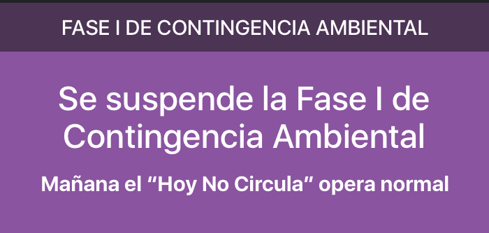 Suspencion-contingencia